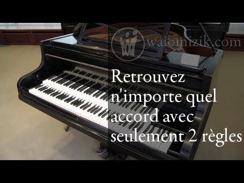 piano comment re trouver n 39 importe quel accord youtube. Black Bedroom Furniture Sets. Home Design Ideas