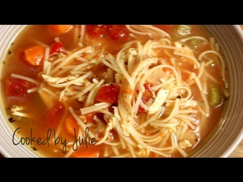 Download Spicy Chicken Noodle Soup - Cooked by Julie - Episode 13