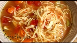 Spicy Chicken Noodle Soup - Cooked By Julie - Episode 13