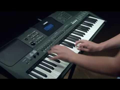 Mit Yamaha im Studio PSR E453, PSR EW400