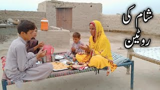 Evening Routine in Village Life ہماری شام کی روٹین کیا ہے؟