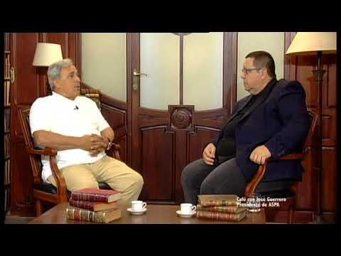 Cafe con José Guerrero Presidente de ASPA
