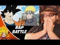 Goku vs. Naruto Rap Battle! Fan Animation (By SSJ9K) REACTION!!!