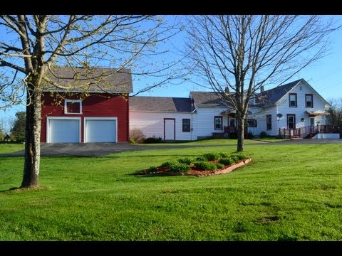 SOLD Enfield Maine New England Farm Home on 15 acres SOLD