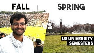 FALL or SPRING Semester | Advantages and Disadvantages | MS in the US