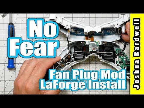 LaForge v4 Internal Install and Fan Plug Mod | FATSHARK GOGGLE MOD