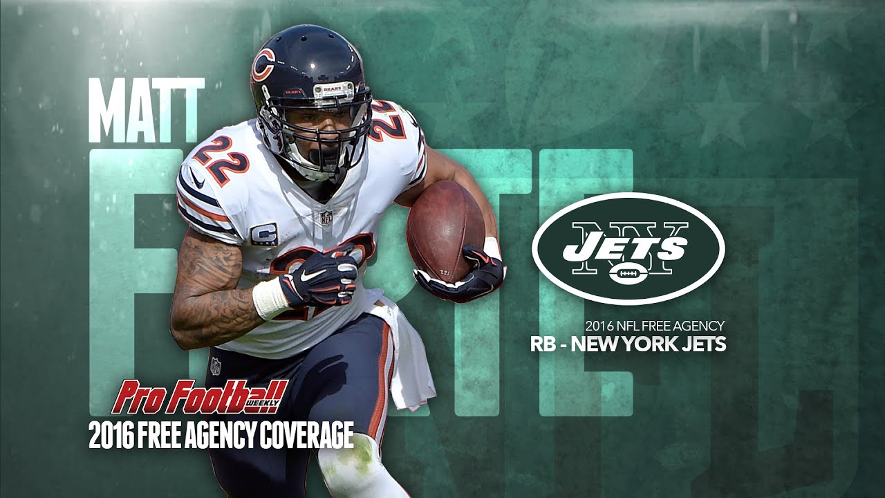2016 NFL Free Agency Video Will Matt Forte Be The Right Fit As A New York Jet