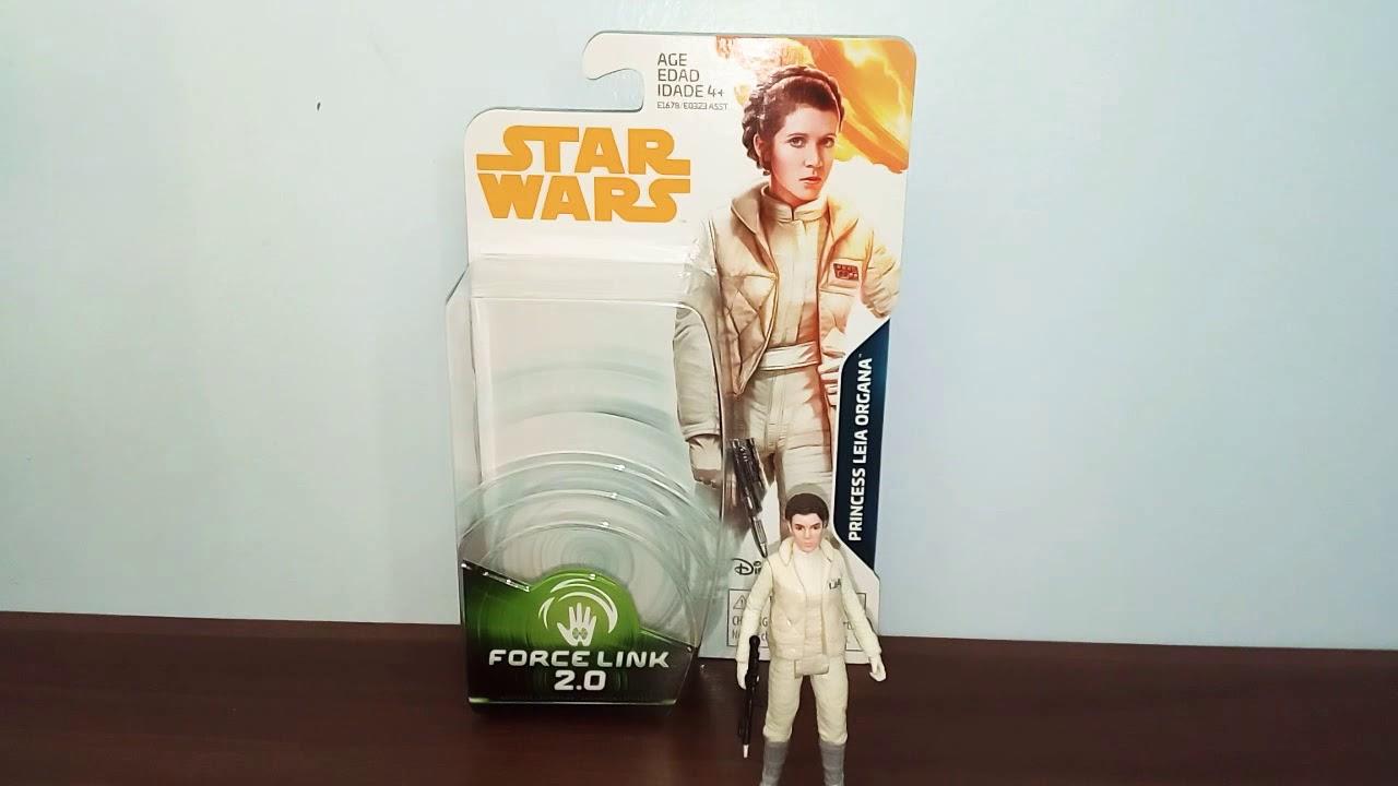 "Hoth Action Figure 3.75/"" Force Link 2.0 2018 Star Wars Princesse Leia Organa"