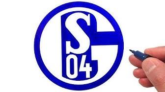 How to Draw the FC Schalke 04 Logo