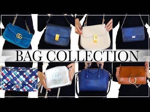 MY DESIGNER BAG COLLECTION | CHANEL, GUCCI, CHLOE, GIVENCHY, CELINE, VALENTINO, YSL, BULGARI