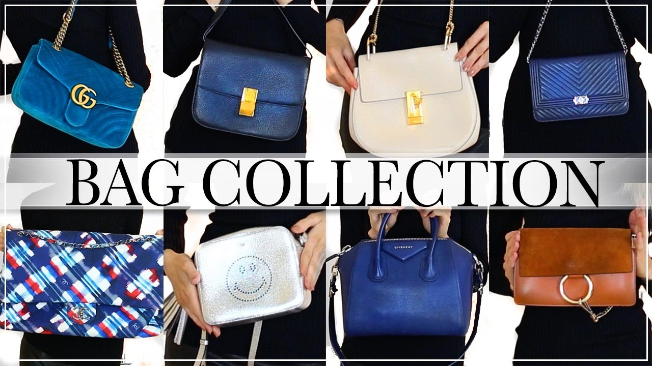 1379baa7a3d4 MY DESIGNER BAG COLLECTION | CHANEL, GUCCI, CHLOE, GIVENCHY, CELINE ...