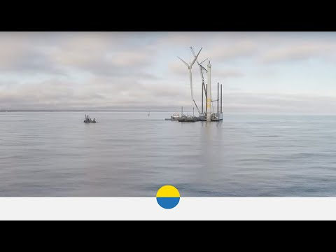 World's first dismantling of an offshore wind farm - Vattenfall