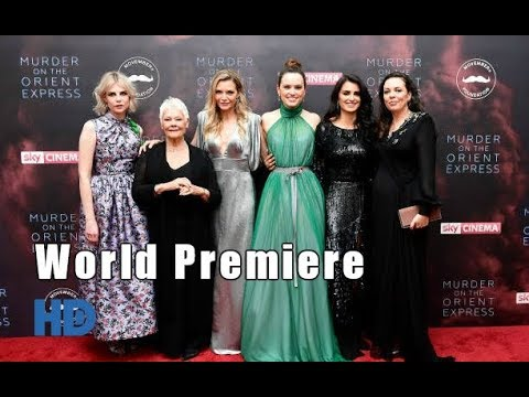 Murder on the Orient Express [HD]| World Premiere | Cast interviews| Red Carpet