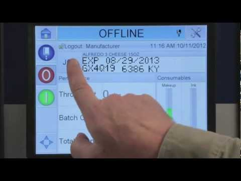 Code Assurance ® - Imprimantes marquage jet d'encre Videojet 1550 et 1650