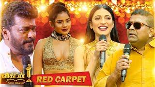 Red Carpet Part 1 Ananda Vikatan Cinema Awards 2019 Cinema Vikatan Tamilsky Net