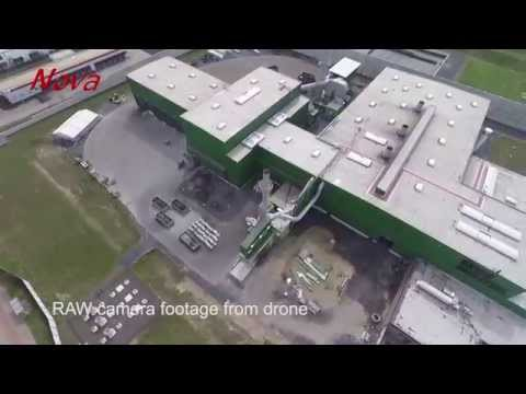 Combining Aerial footage and 3D CGI modelling...