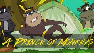 Moral Stories for Kids - Jataka Tales - A Prince of Monkeys