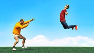 GTA 5 - Force Power Crazy Moments! (GTA 5 funny compilation)