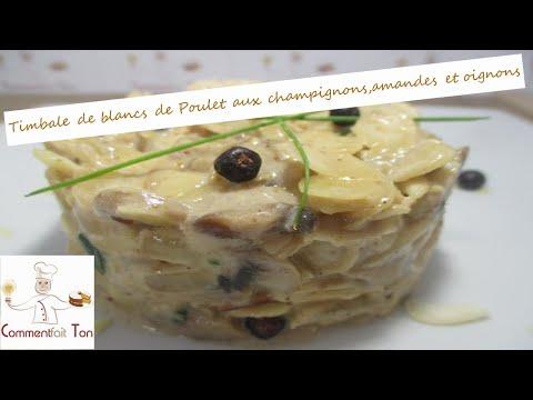 timbale-de-blancs-de-poulet-aux-champignons,amandes-et-oignons-par-commentfait-ton