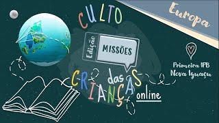 Culto das Crianças (23/08/2020)