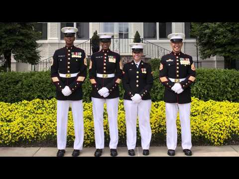 Corps Expands Testing of New Female Dress Blues
