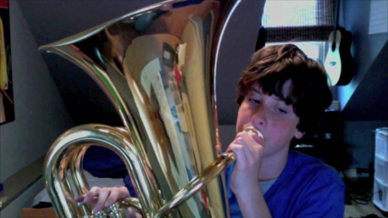 Fat Kid On Tuba: Rattlesnake - YouTube