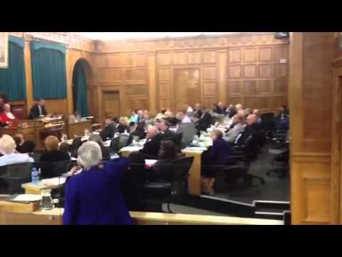 Barnet Council Blue Badge/Councillor Permit Vote