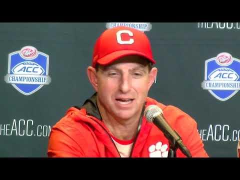 Clemson 42, Pitt 10: Dabo Swinney postgame press conference