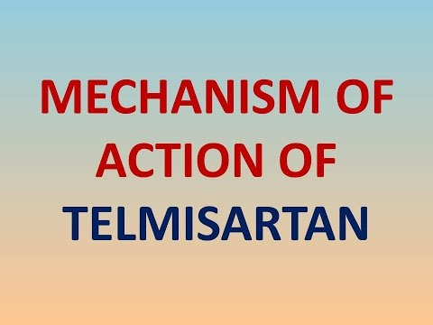 Mechanism of action of TELMISARTAN