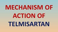 Mechanism of action of TELMISARTAN