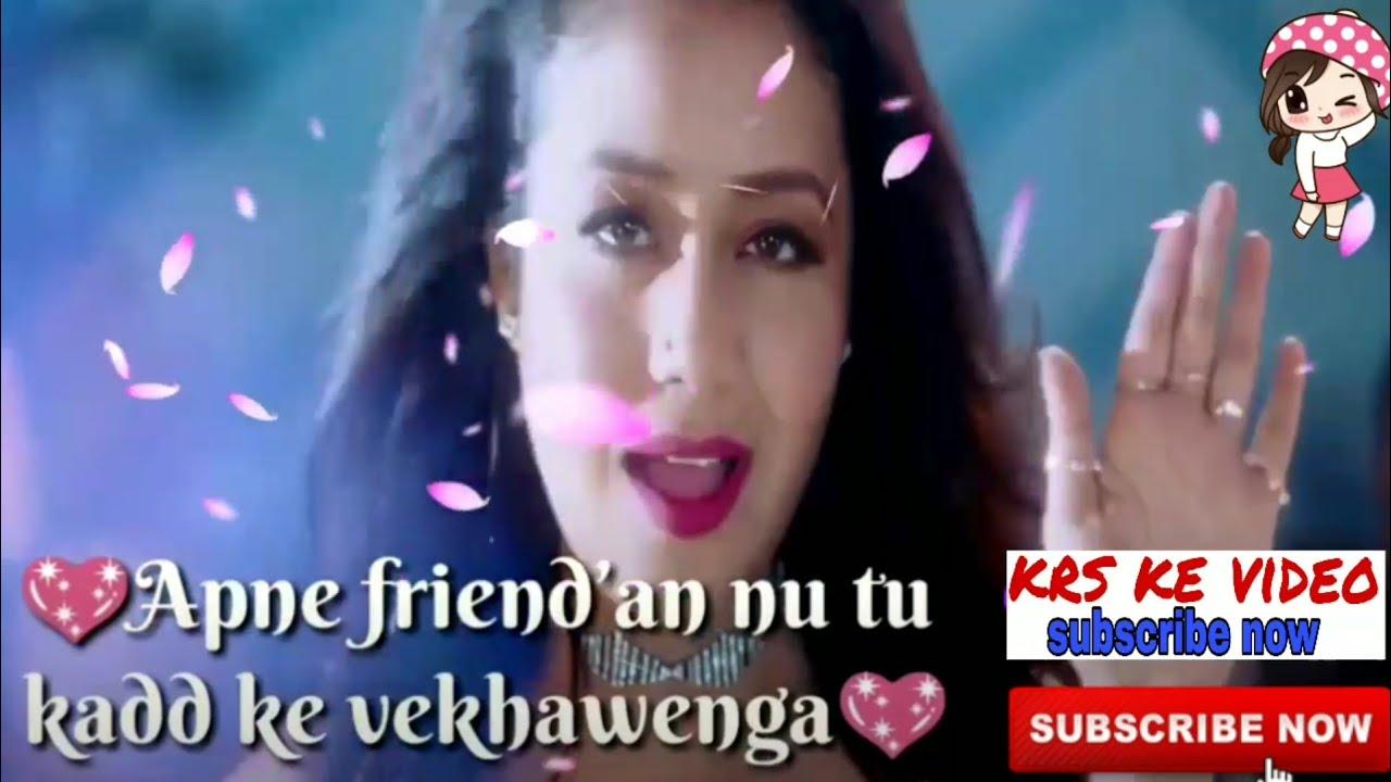 La La La - | WhatsApp status video |Neha Kakkar | lyrics WhatsApp status  video download now new 2018