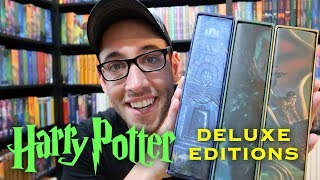 Harry Potter American Deluxe Collector's Edition Books