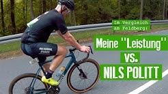 Wie ich bei Eschborn-Frankfurt krass Leistung abbaue – mein Feldberg vs. Nils Politt!