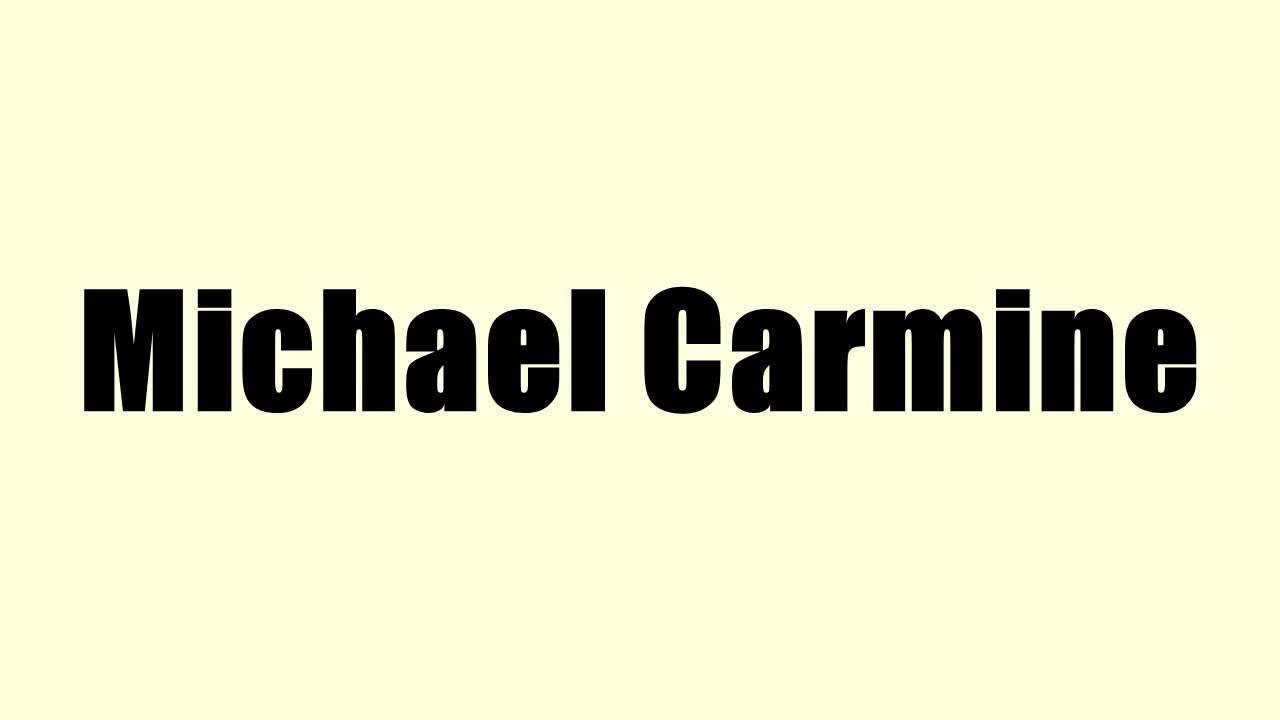 michael carmine nyu