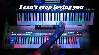 I can't stop loving you Ray Charles on Tyros 5.