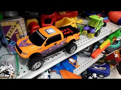 Road Rippers top tune comebacks Ford F-150 orange with purple flames (RARE)