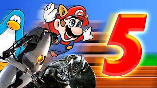 5 Ridiculous Achievements in Speedrunning - Up At Noon Live!