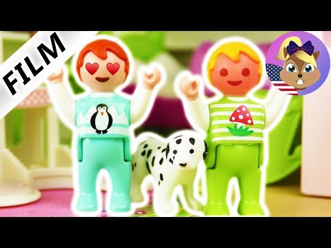 Playmobil Film English - EMMA'S FIRST LOVE! THE FIRST TIME REAL FEELINGS - Smith Family