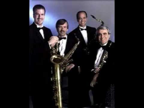 Chaconne for Saxophone Quartet - J.S. Bach - Morosco Saxophone Quartet