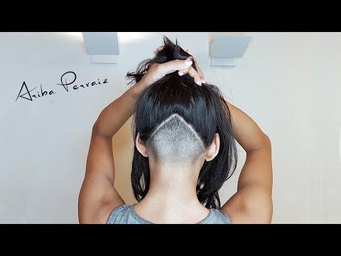 Triangle Undercut - Hair Makeover | ARIBA PERVAIZ