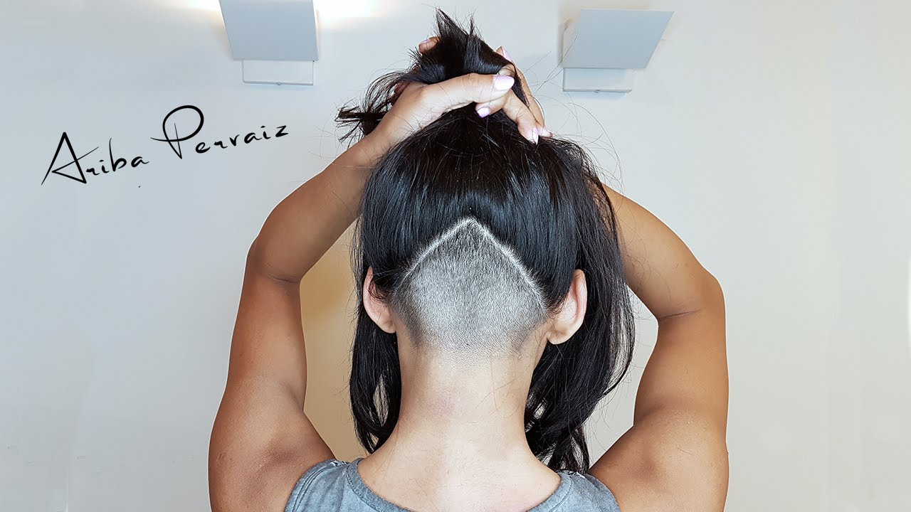 Triangle Undercut , Hair Makeover