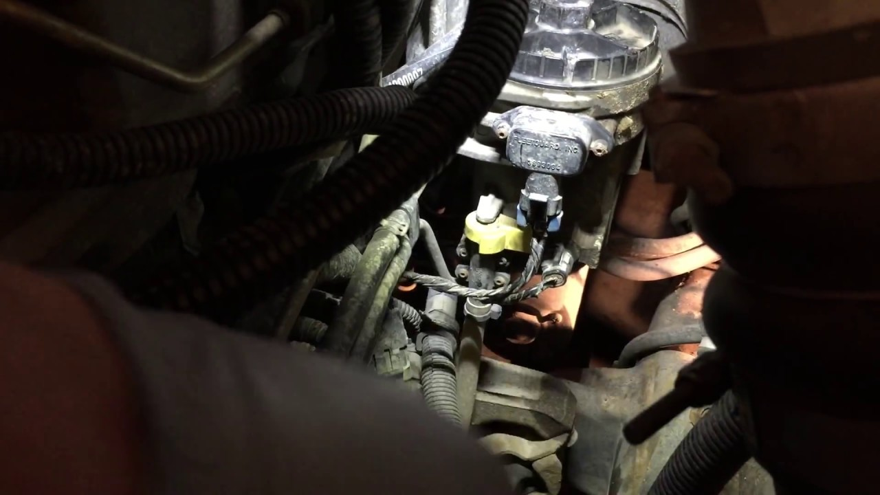 2004 dodge 5 9 diesel lift pump install [ 1280 x 720 Pixel ]