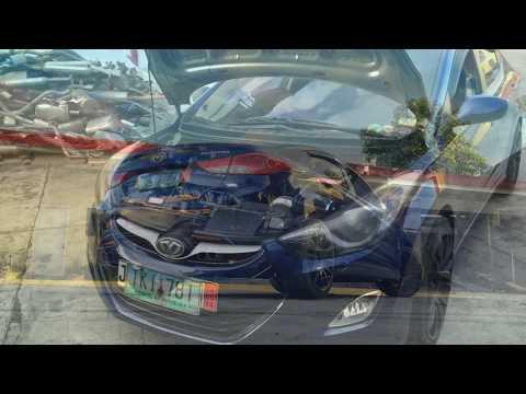 Hyundai Elantra exhaust system