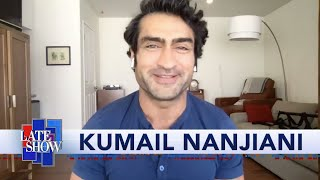 Kumail Nanjiani Isn't Letting Quarantine Ruin His Superhero Physique