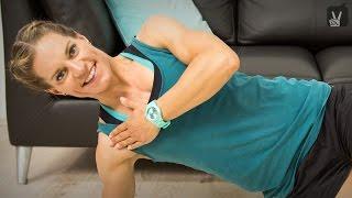 Fitness Workout: Schultern und Halswirbelsäule trainieren