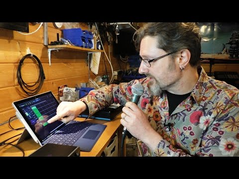 Making Music on the Surface Pro 4 - Setting it all up