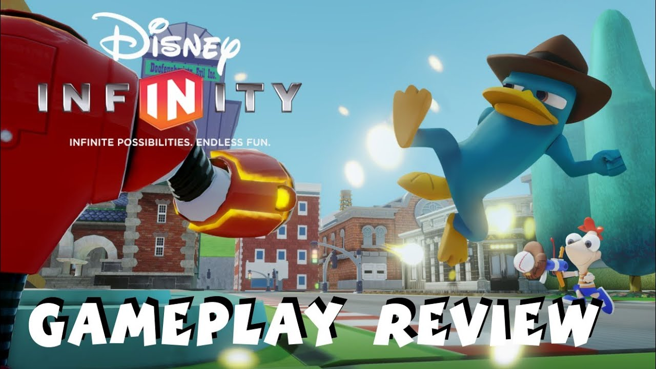 Disney Infinity Phineas And Ferb Gameplay Review 1080p Hd