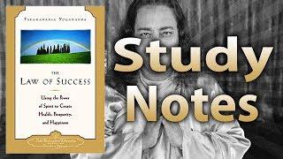 The Law of Success by Paramahansa Yogananda (Study Notes)