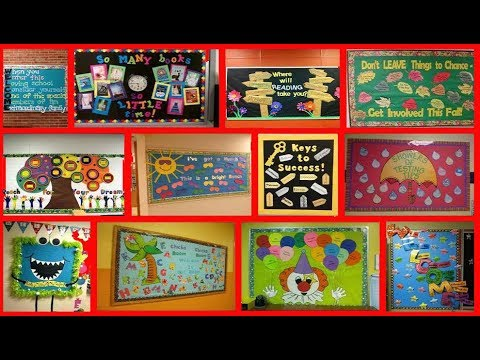 School Notice Board Decoration Ideas Decoration Ideas Youtube