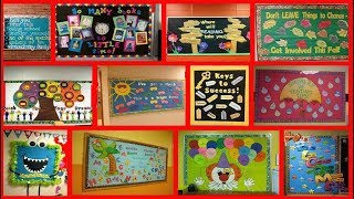 School notice board decoration ideas #Decoration #ideas